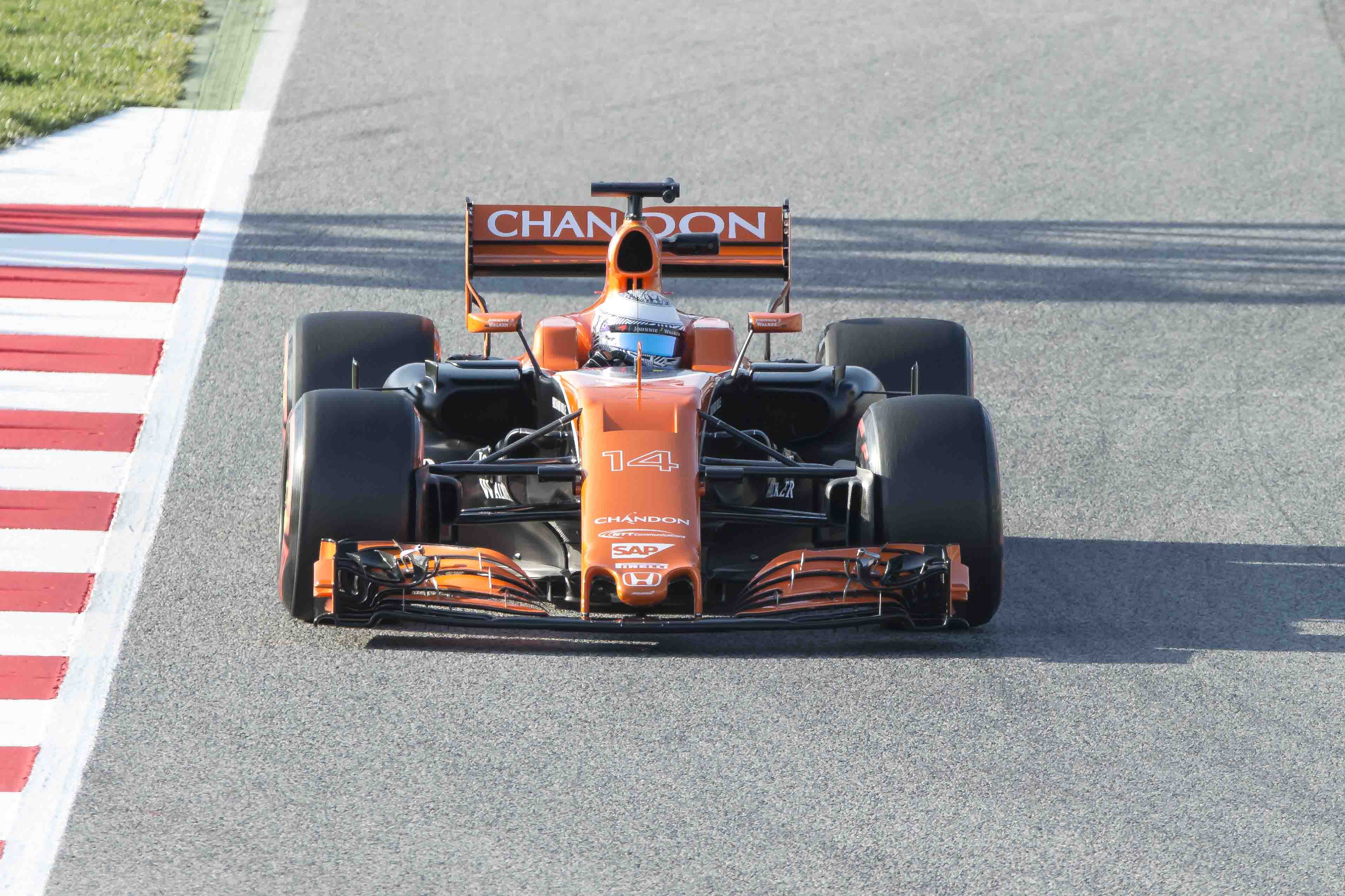McLaren Has Gone Orange