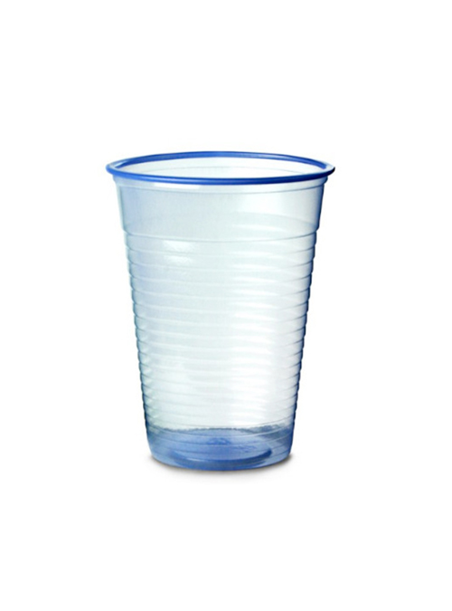 1000 Blue Tint 7oz Recyclable Plastic Cups