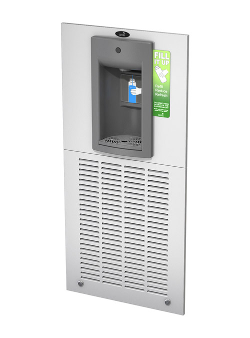 Oasis MW8SBFY Aqua Pointe Recessed Refrigerated Bottle Filler