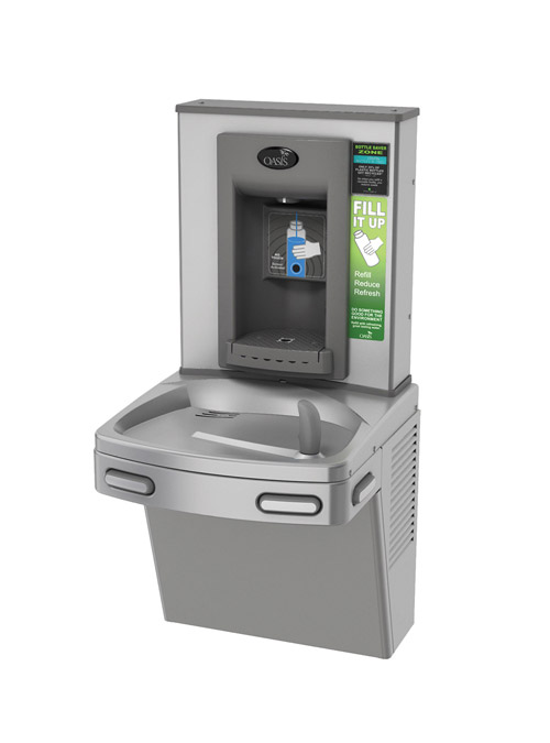 Oasis PSBF Bottle Filler + Non-refrigerated VersaCooler