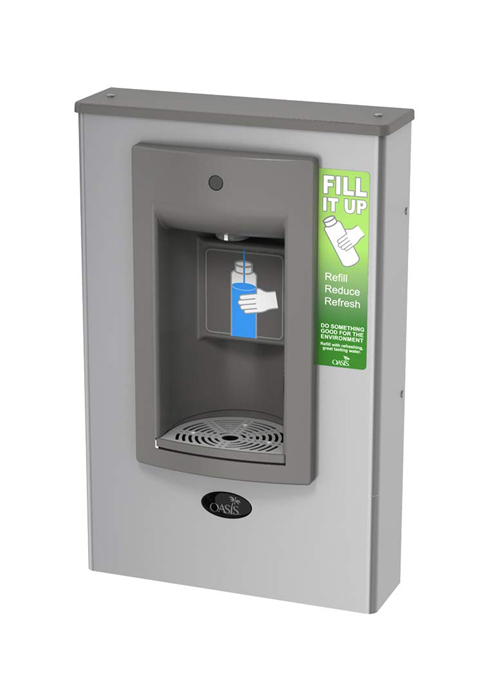 Oasis PWSMSBF Aqua Pointe Surface Mount Non-Refrigerated Bottle Filler