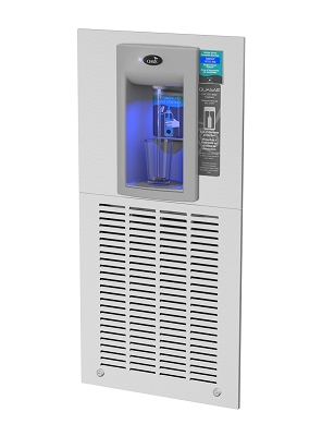 Oasis MW8F2EBQY Hands-Free Recessed Bottle Filler with QUASAR UV Out
